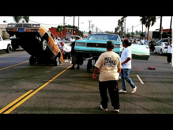 Lowrider hopping competition gets heated No Limit Car Club