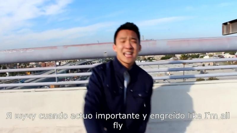 Рэп на 7 языках (Английском, Китайском, Испанском, Русском, Немецком, Корейском и Фарси)