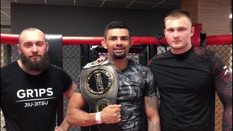 Боец Sergio Kreator Souza одержал победу над Дмитрием Ирлицыным