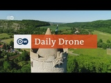 #DailyDrone Saaleck Castle DW English (2017) - замок Burg Saaleck, город Bad Kosen, Саксония-Анхальт