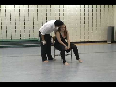 Unarmed Stage Combat - Brian and Caitlin