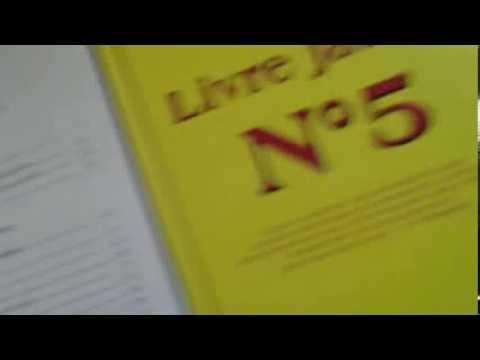 La Guerre des Franc-Maçons - Sociétés Secrète - Livre Jaune no.1-2-5-6-7 (Yellow Book)