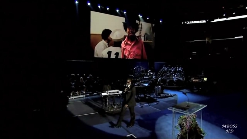 Usher - Gone Too Soon (Live at Michael Jackson memorial tribute concert) HD