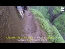 Dangerously Steep Trekking Steps In India