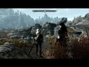Путешествие Геральта и Йеннифэр The Elder Scrolls 5.Skyrim- Часть 17 Заброшенный дом
