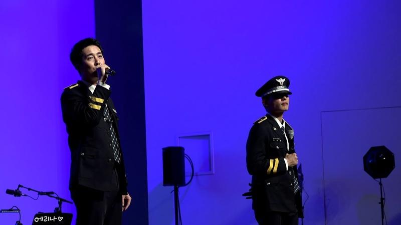[4K] 180915 [경기천년기념 야외음악회] 경기남부경홍보단 SS501 김형준, 이병호 - 갖고 놀