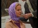 Russian peasant girl in headscarf