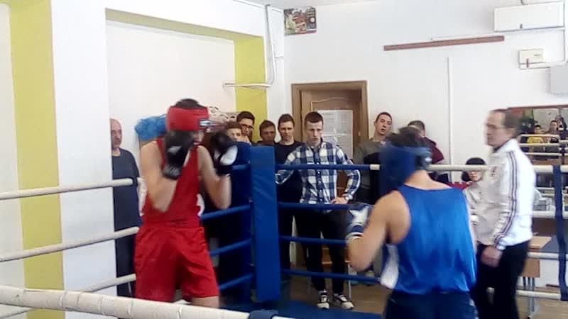 Бокс 2019 Побединский-Криницын 1 раунд