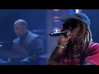 Lil Wayne_ Dedicate 2 октября  Лил Уэйн на телешоу Джимми Фэллона в Нью-Йорке, США.