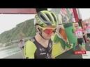 La Vuelta etapa 13 Control de Firmas salida Candás.Carreño
