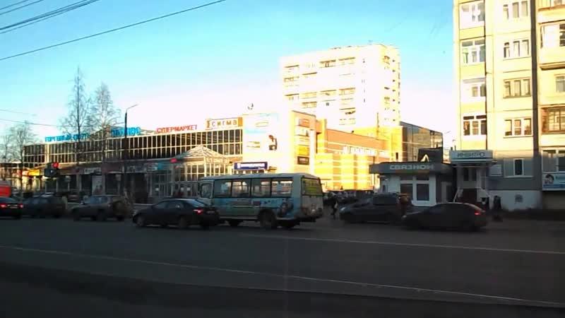 Архангельск остановка Полюс.