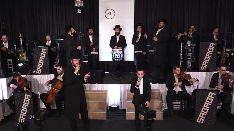 'A Yiddisha Mama' Live! Avrum Mordche Schwartz Shulem Brodt - Sababa Shira Choir א יידישע מע