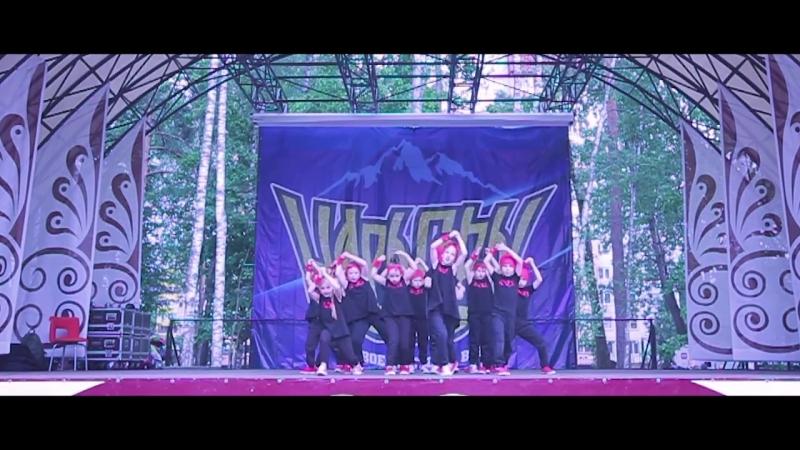 DANCE SHOW   ЦАРЬ ГОРЫ   Группа Юли Пахулиной- Dragon Gang
