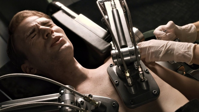Стиву Роджерсу делают инъекции сыворотки Суперсолдата Трансформация Стива Роджерса Первый мститель