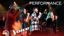 Adam Levine Team Adam Sing Rhiannon - The Voice 2018 Live Top 13