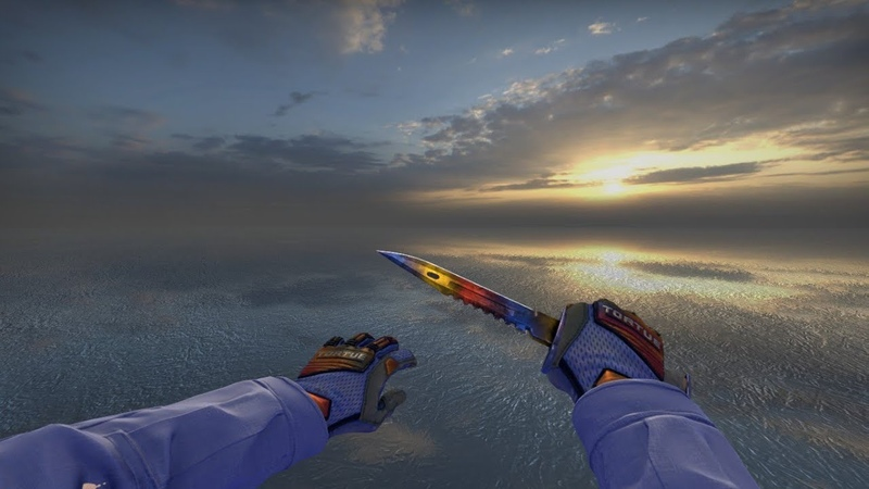 Showcase Specialist Gloves Fade Holo Stickers
