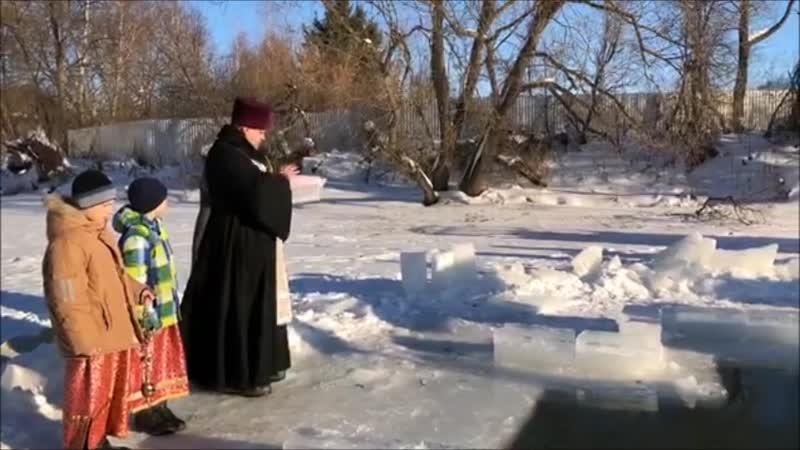 Крещение в Венёве 2019 год