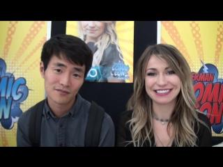Christopher Larkin & Chelsey Reist craziest Interview GERMAN COMIC CON