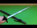Paul Chen Hanwei Forge Iga Ninja-To Straight Sword.mp4