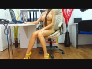 Sexy girl webcam orgasm high heels [amateur, solo, webcam, masturbation, porn, teen, dildo]