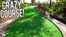 THE HARDEST MINI GOLF CHALLENGE COURSE WE'VE EVER PLAYED!