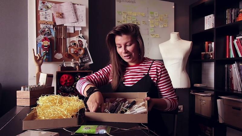 Марина Клёсова - обзор сентябрьской коробочки Doodle Sketch MarkerBox (сентябрь 2018) » Freewka.com - Смотреть онлайн в хорощем качестве