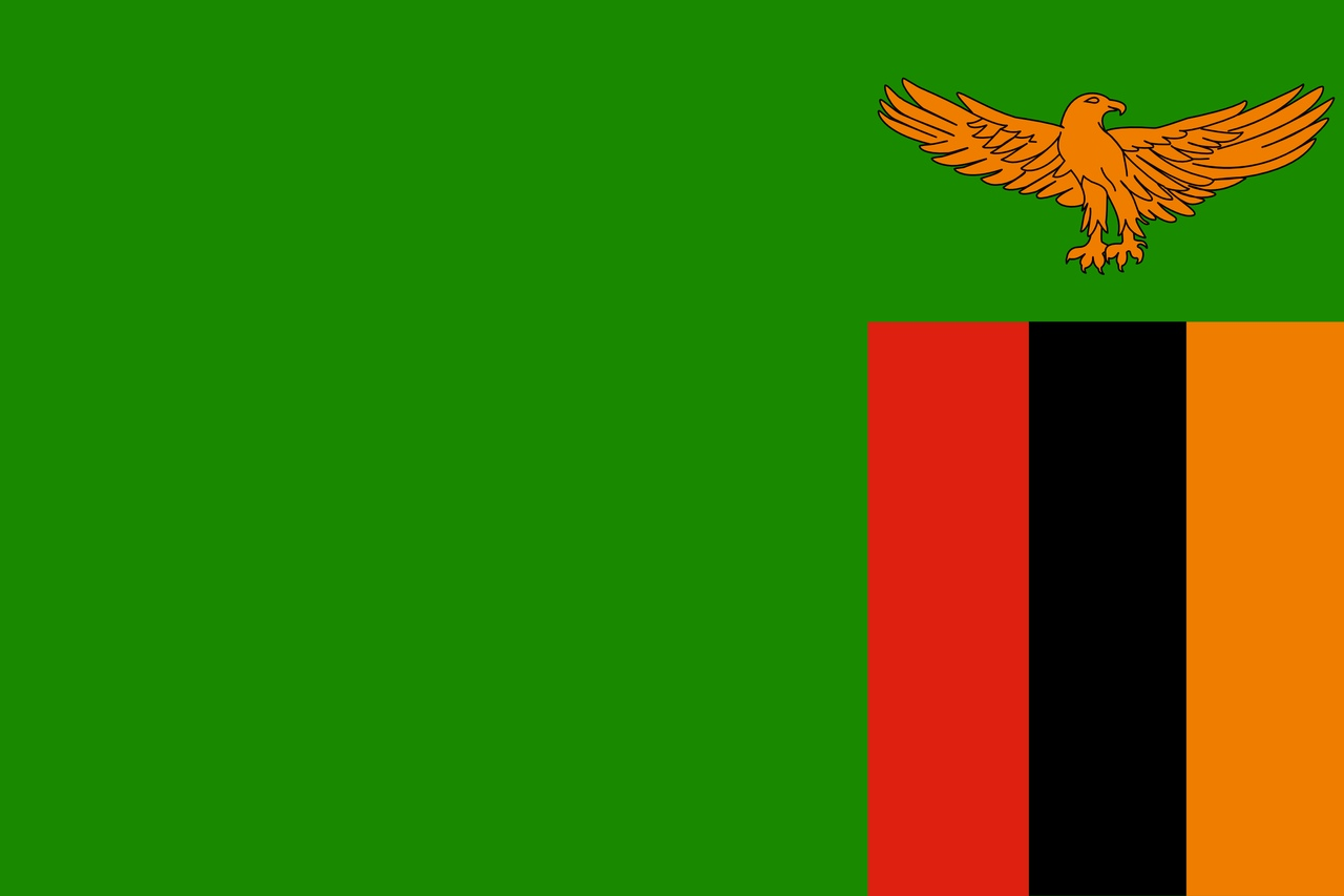 Флаг Замбия