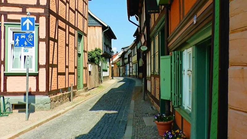 Wernigerode, die bunte Stadt im Harz - Juni 2013
