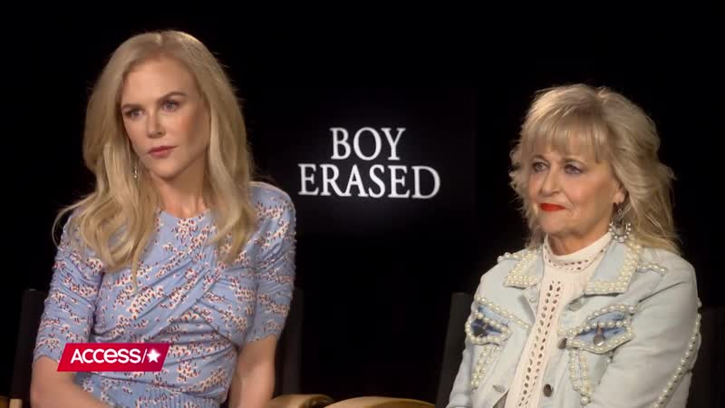 Nicole Kidman Says Portraying Real Life Mom Nancy Conley In Boy Erased Was A Gift Access