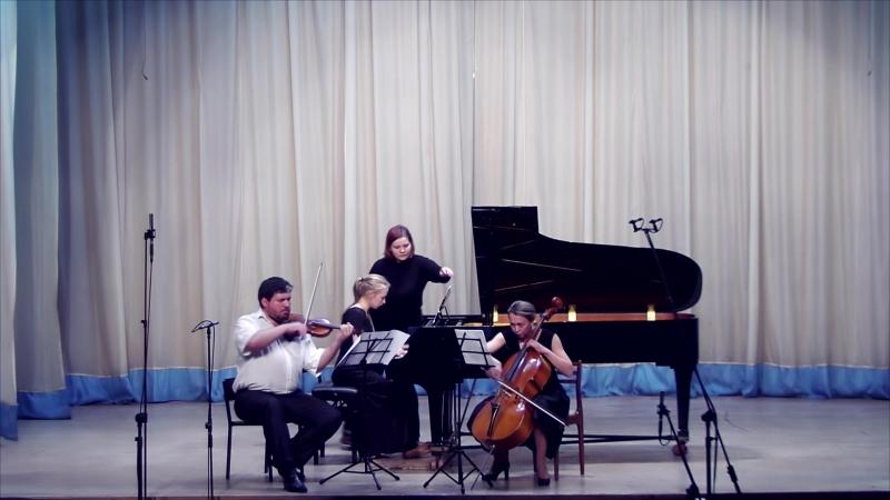 Бенджамин Годар - Трио для фортепиано, скрипки и виолончели №2, ор.72 (финал)