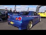 Nissan Skyline R34 Nismo R Tune + R32 + R33