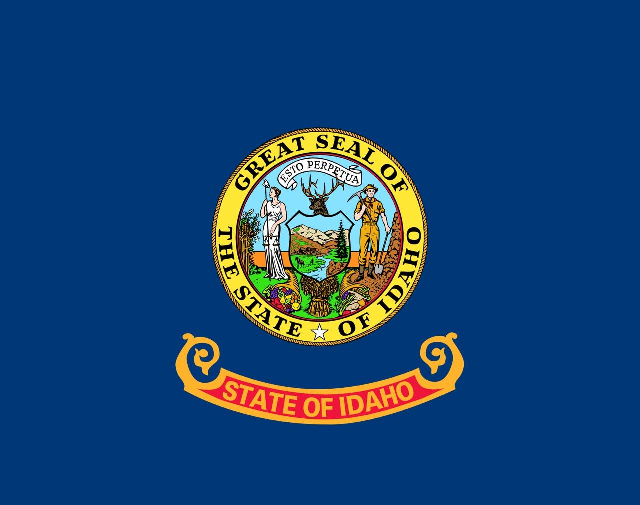 Флаг Айдахо