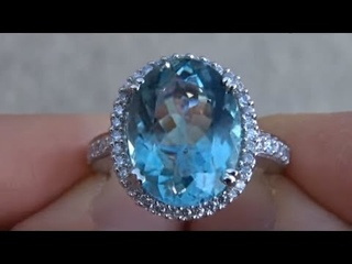 Desperate Housewife Sells her prized Aquamarine Ring & Jewelry collection