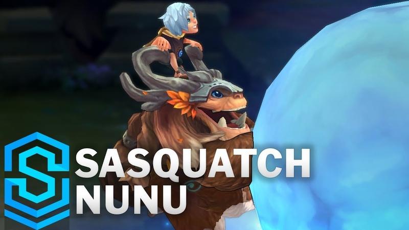 Sasquatch Nunu 2018 Skin Spotlight Pre Release League of Legends