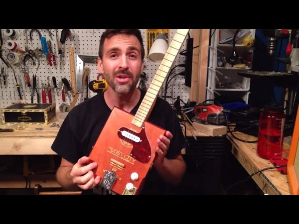 Install a Magnetic Pickup, Florentine Screamer: Cigar Box Guitar How To