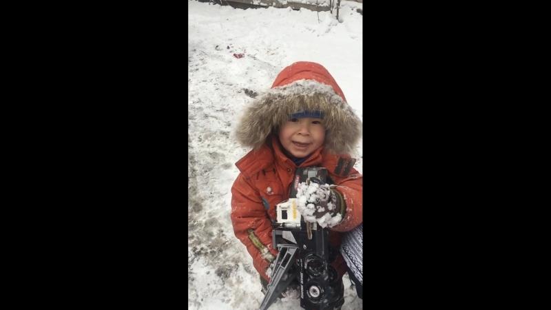 Bogesha na progulke zima 2017-18