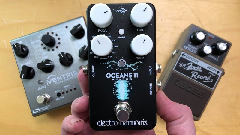 EHX Oceans 11 surf drip Vs Ventris and FRV 1