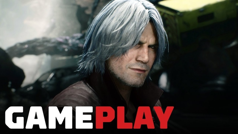 15 Minutes of Devil May Cry 5 Dante Gameplay - TGS 2018