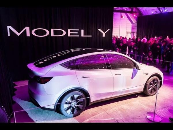 SUV ĐIỆN TESLA MODEL Y ra mắt siêu siêu đẹp ( Giá từ 900 triệu đồng)