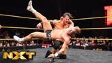 Tyler Bate vs. Roderick Strong WWE NXT, Aug. 15, 2018
