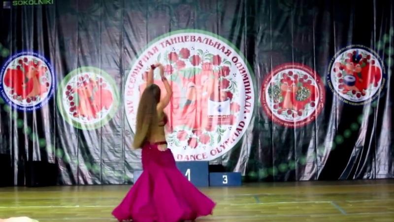 Kristina Kozintceva,World Dance Olympiad 2016