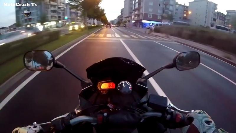 Мотосезон 2018. Аварии мотоциклистов.