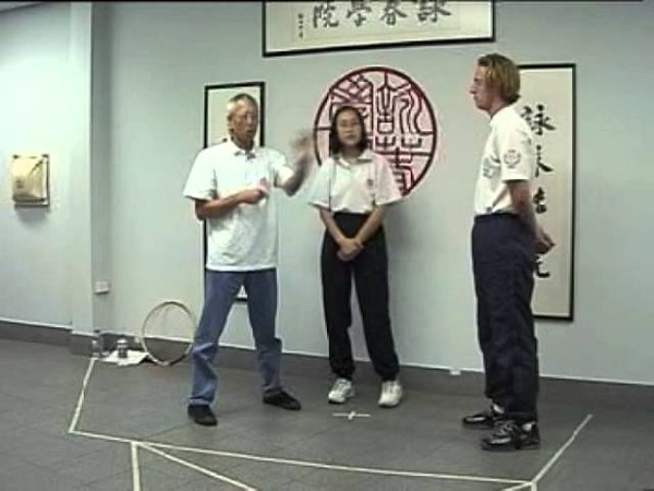 Chu Shong Tin breaks down the Ving Tsun Chum Kiu form | Part I