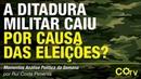 A ditadura militar caiu por causa das eleições