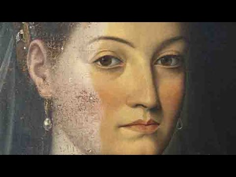 Varnish removal of Jacopo Zucchi s Portrait of a Lady