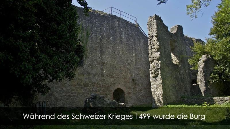 Burgruinen Deutschland - Burg Homburg - Stahringen - Hegau - Baden-Württemberg