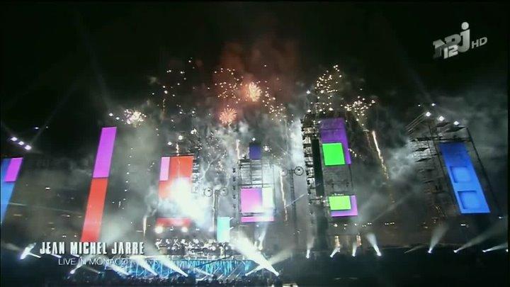 Jean Michel Jarre Live 2011 MONACO Version NRJ12 Euronews Full HD