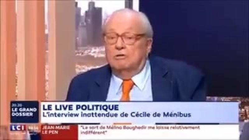 Jean Marie le Pen a déclaré être pour la politique de natalité d'Erdogan