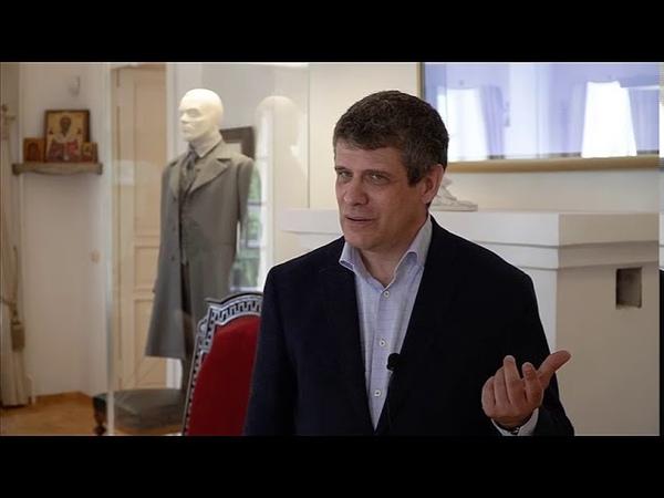 Дмитрий Бак о Музее романа Братья Карамазовы в Старой Руссе