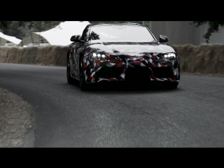 Toyota Supra на фестивале скорости